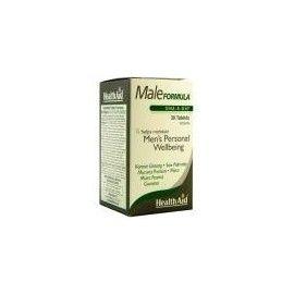 MALE FORMULA HEALTH AID 30 COMPRIMIDOS