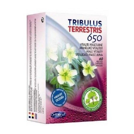 TRIBULUS TERRESTRE 650 ORTHONAT 60 CÁPSULAS