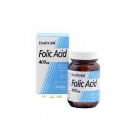 ACIDO FOLICO 400MG HEALTH AID 90 COMPRIMIDOS