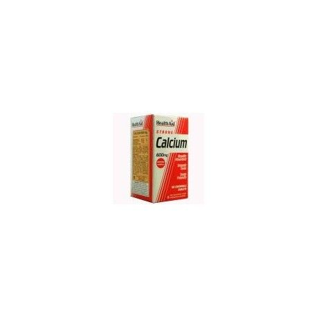 CALCIO 600MG HEALTH AID 60 COMPRIMIDOS