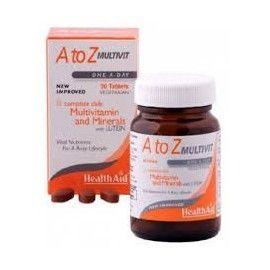MULTIVITAMINAS MINERALES A Z HEALTH AID 90 COMPRIMIDOS