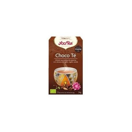 TE CHOCOLATE INFUSION YOGI TEA 17 FILTROS