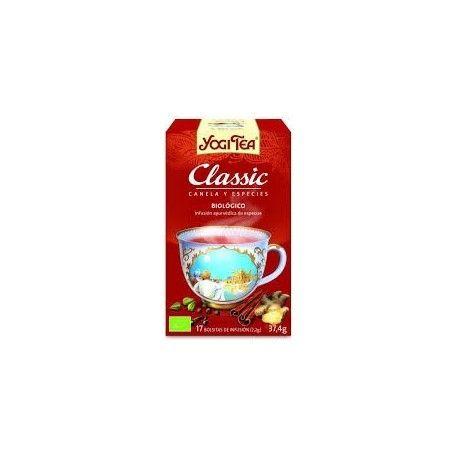ORIGINAL CLASSIC YOGI TEA 17 FILTROS