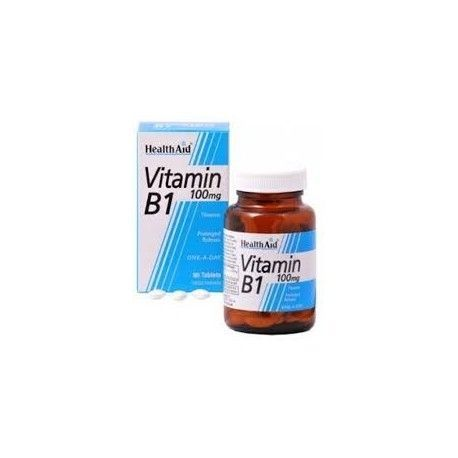 VITAMINA B1 TIAMINA 100MG HEALTH AID 90 COMPRIMIDOS