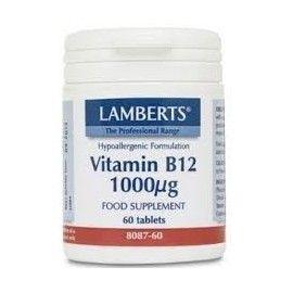 VITAMINA B12 1.000MG LAMBERTS 60 COMPRIMIDOS