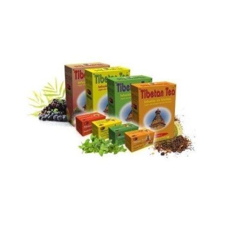 TE TIBETAN FRUTAS INFUSION TIBETIAN TEA 90 FILTROS