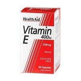 VITAMINA E NATURAL HEALTH AID 60 CÁPSULAS