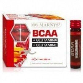 BCAA GLUTAMINA VIALES MARNYS 20 VIALES