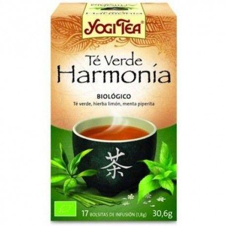 TE VERDE INFUSION HARMONY YOGI TEA 17...