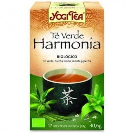 TE VERDE INFUSION HARMONY YOGI TEA 17 FILTROS