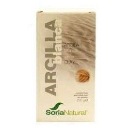 ARCILLA BLANCA USO INTERNO SORIA NATURAL 250GRS