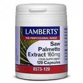 SAW PALMETO 160MG LAMBERTS 120 CÁPSULAS