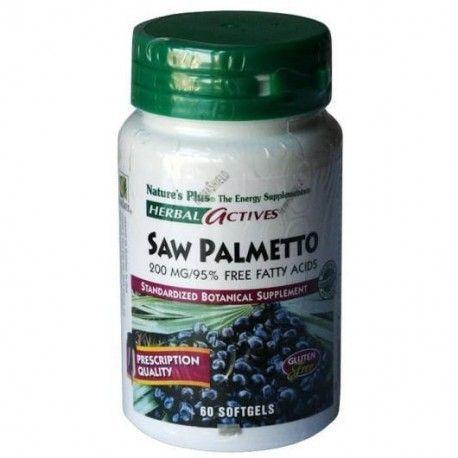 SAW PALMETO 200MG NATURE'S PLUS 60 COMPRIMIDOS