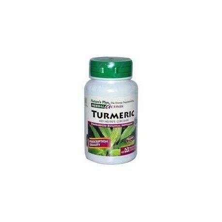 TURMERIC CURCUMA NATURE'S PLUS 60 COMPRIMIDOS