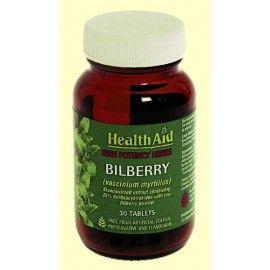 BILBERRY HEALTH AID 30 COMPRIMIDOS