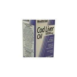 COD LIVER OIL HEALTH AID 60 CÁPSULAS