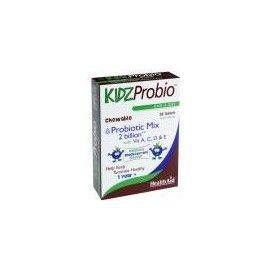 KIDZPROBIO MASTICABLES HEALTH AID 30 COMPRIMIDOS