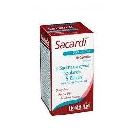 SACARDI HEALTH AID 30 CÁPSULAS