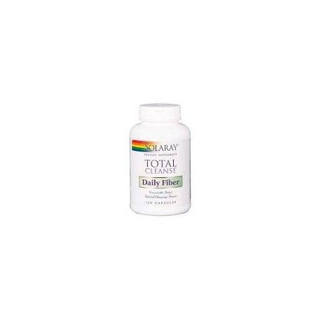 TOTAL CLEANSE FIBER SOLARAY 120 CÁPSULAS