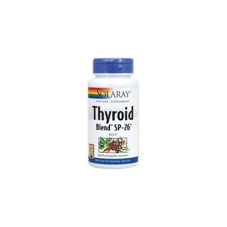 THYROID BLEND KELP 500MG SOLARAY 100 COMPRIMIDOS