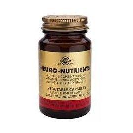 NEURO NUTRIENTES SOLGAR 30 CÁPSULAS