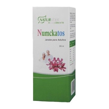 NUMCKATOS JARABE ADULTOS NATURLIDER 250 ML