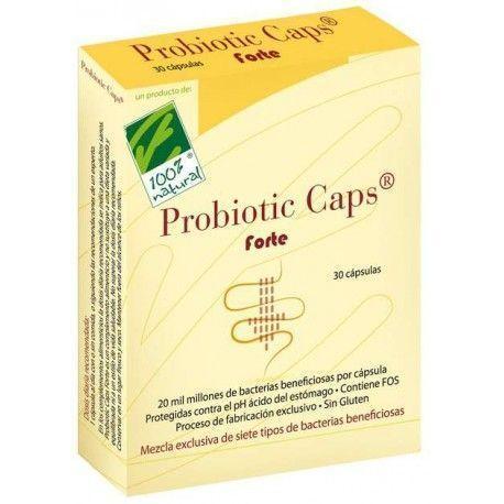 PROBIOTIC FORTE CAP 100% NATURAL 30 CÁPSULAS