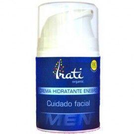 Irati Organic crema facial hidratante enebro hombre Bio 50ml