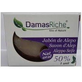 JABON ALEPO OLIVA 50% LAUREL ECORICHE 200 GR
