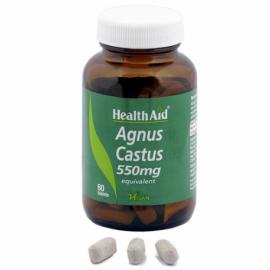 HEALTHAID SAUZGATILLO VITEX AGNUSCASTUS 550 MG 60 COMP