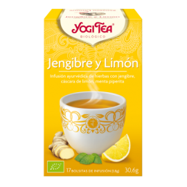 JENGIBRE INFUSION LIMON YOGI TEA 17 FILTROS