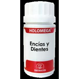 EQUISALUD HOLOMEGA ENCIAS Y DIENTES 50 CAP