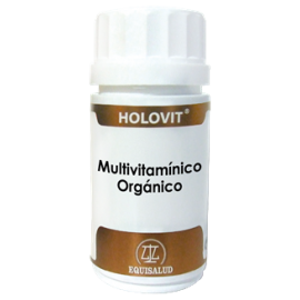 EQUISALUD HOLOVIT MULTIVITAMNICO ORGANICO 50 COMP