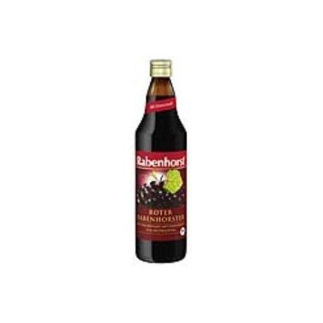 RABENHORST ZUMO ECO uva roja con hierro 750ml.