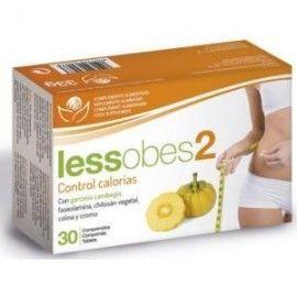 BIOSERUM LESSOBES 2 control calorias 30comp.