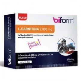 DIETISA BIFORM L-CARNITINA 2000mg. 14viales