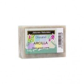 JABON ARCILLA GRASA ACNE DRASANVI 100 GR