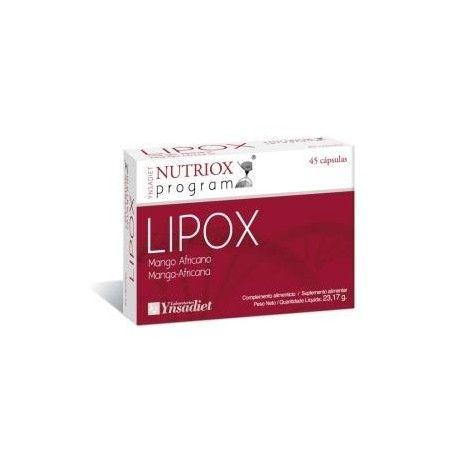 NUTRIOX LIPOX (MANGO AFRICANO) 45...