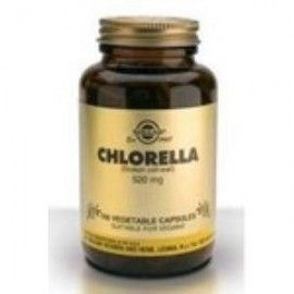 SOLGAR CHLORELLA (DE PARED CELULAR ROTA) 100 VEGICAPS