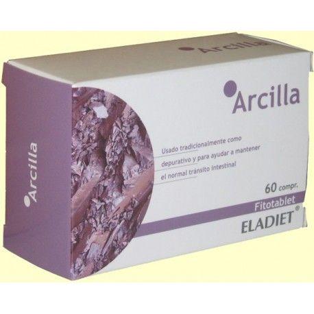 ARCILLA FITOTABLET ELADIET 60 COMPRIMIDOS