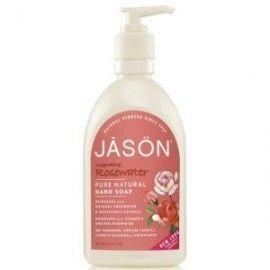 JASON SATIN SOAP JABON DE MANOS AGUA DE ROSAS 473ML