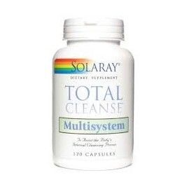 TOTAL CLEANSE MULTISYSEM SOLARAY 120 CÁPSULAS