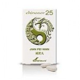 SORIA NATURAL CHINASOR 25 JIAN FEI WAN 30 COMPRIMIDOS