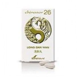SORIA NATURAL CHINASOR 26 LONG DAN WAN 30 COMPRIMIDOS