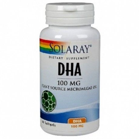 DHA NEUROMINS 100MG S SOLARAY 30 PERLAS