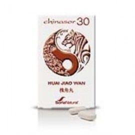 SORIA NATURAL CHINASOR 30 HUAI JIAO WAN 30 COMPRIMIDOS