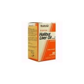HALIBUT LIVER OIL HEALTH AID 90 CÁPSULAS