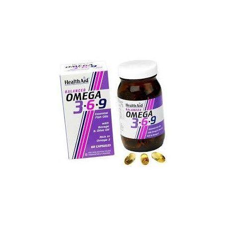 OMEGA 369 HEALTH AID 60 CÁPSULAS