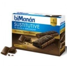 BIMANAN BARRITAS CHOCOLATE INTENSO 8UD.