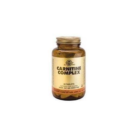 CARNITINA COMPLEX SOLGAR 60 COMPRIMIDOS